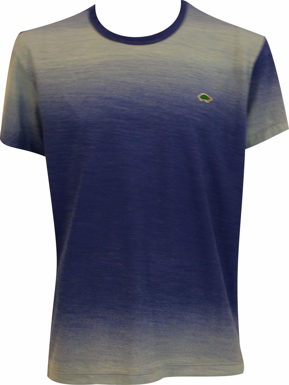 Camiseta Pau a Pique tie dye Azul Bic BIC - XL