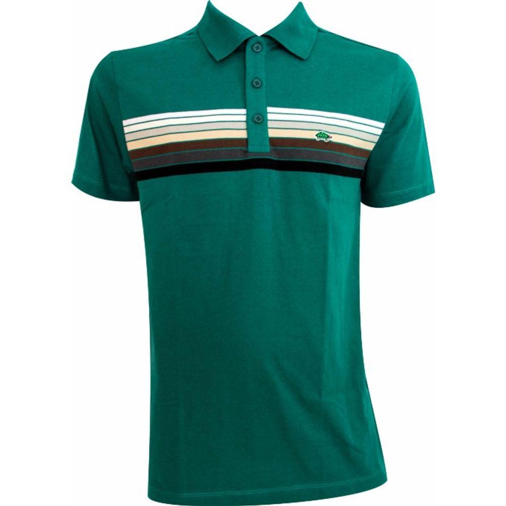 88dc5ba241 Camisa polo masculina listrada - Pau a Pique