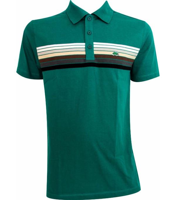 802ca28b09 Camisa polo masculina listrada - Pau a Pique