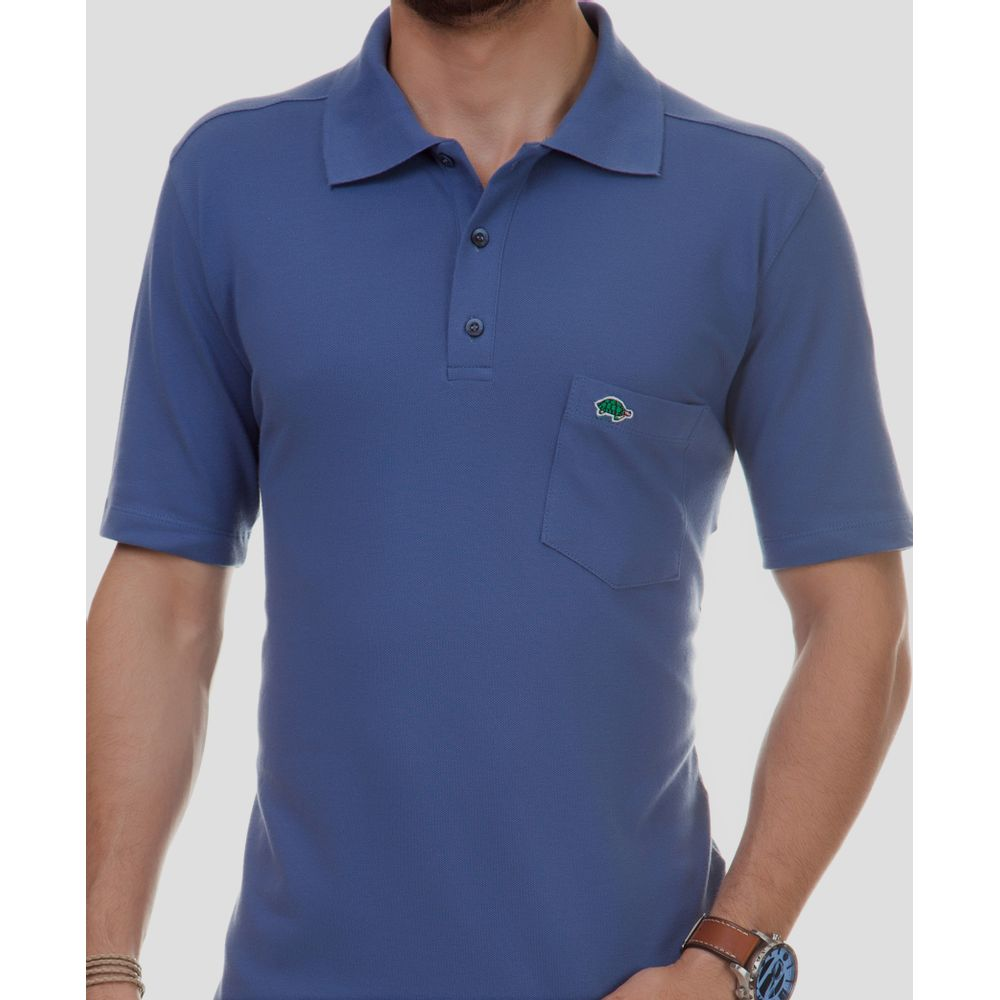 Camisa polo básica masculina - Pau a Pique 374cc0418592c