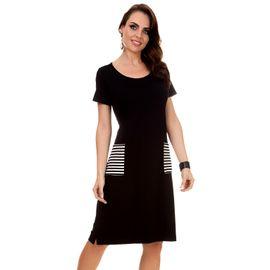 57abf0fa74c5 Encontre Vestido animal print com courino marrom | Multiplace